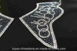 Il cristallo su ordinazione del ferro rattoppa le decalcomanie di Appearl del Rhinestone (TM-236)