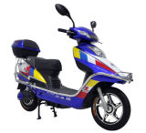 Motocicleta elétrica da suspensão dupla com a motocicleta do diodo emissor de luz E