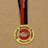 Il metallo su ordinazione di vendita superiore 2016 mette in mostra la medaglia, la medaglia corrente, medaglia di maratona in metallo