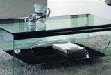 vidro temperado desobstruído da parte superior de tabela de 15mm com certificação 3c