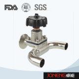 Válvula de diafragma manual higiénica de dos vías del acero inoxidable (JN-DV1010)