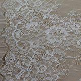 花嫁の服のための新しく豪華な花嫁のレースのまつげのレースファブリック