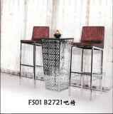ホテルの家具のための現代熱い販売のステンレス鋼棒椅子