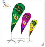 bandiera di volo di stampa di Digitahi di promozione di evento di 2.8m/bandierina di alluminio del Teardrop