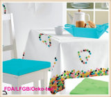 Tablecloth stampato con Nonwoven Backing (TJ0009-A)