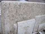 Atacado New Venetian Gold Giallo Ornamental Prefab Island Kitchen Countertops