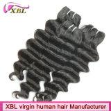Волосы девственницы изготовления волос Xbl верхнего качества бразильские