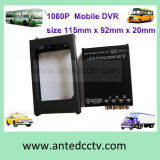 4CH Gleichstrom 12V Portable Mobile DVR Recorder für Vehicles Cars Buses Trucks Tankers