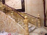 Hecho en el tipo de moda barandilla de Foshan China Europa de la escalera