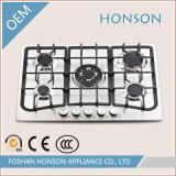 Fresa del gas dell'acciaio inossidabile dei bruciatori di alta qualità 5 dell'elettrodomestico