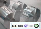 La tapa 55 Micron del papel de aluminio de contenedores