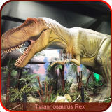 Dinossauro de controle remoto para a exibição
