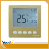 Sei Periods Programmable Thermostats con affissione a cristalli liquidi Screen