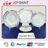 Conjunto del vajilla de la porcelana para el uso casero del hotel