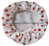 PEVA Bowl Cover with Red Spot (Pacote de 7PCS)