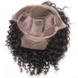 広州の製造者の提供の卸売価格の安い良質のかつらのペルーの巻き毛の波先のレースの人間の毛髪のかつらのアフリカの編みこみのかつら