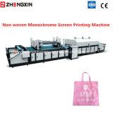 Máquina de impressão monocromática não tecida da tela Zxh-A1200