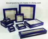 Doos van de Juwelen van de Gift van de douane de Embleem Afgedrukte