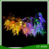 Colorful Butterfly LED Solar String Light 20LED / 30LED pour Christmas Tree Festival Party Decoration Fairy Light