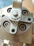 Dreiweget Muster des Festlegung-Entwurfs-schmiedete Kugelventile