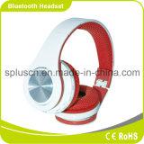 Auriculares sem fio desgastando apropriados ajustáveis da cor vermelha
