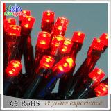 Feiertag beleuchtet 200 LED-gelbe Zeichenkette-Licht-Weihnachtslichter
