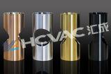 Máquina de capa Titanium inoxidable del cuchillo PVD de la fork de la cuchara del acero, equipo de la vacuometalización del oro del estaño