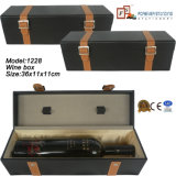 Manufacturer su ordinazione Single Bottle Wine Gift Box (1229R3)