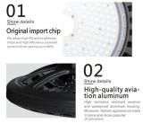 Meanwell 운전사 Philips SMD 3030와 가진 120lm/W 12000lm 산업 LED Highbay 빛 100개 와트 100W