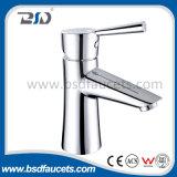 Faucet de bronze do água da torneira da bacia da única alavanca aprovada do Watermark