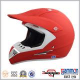 광택이 없는 빨강 ECE Motorcross 또는 기관자전차 또는 모터바이크 헬멧 (CR405)
