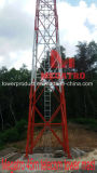 45m 빛 4 다리가 있는 통신 탑