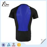 China-Fabrik O-Stutzen Leerzeichen-Mann-weiche Shirt-Gymnastik-Abnützung