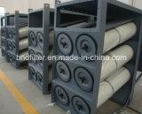 Sistema de eliminación del polvo industrial parecido al cartucho