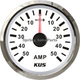 "2 "" 52mm Ammeter/AMP Gauge con Current Selezionano-in su Unit +/-50A con Backlight"
