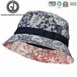 La grande sublimazione classica del bordo lascia il cappello della benna del cotone di stampa