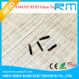 Markering de zonder contact van de Microchip Em4305 van Em fdx-B van de Markeringen van het Glas van identiteitskaart RFID