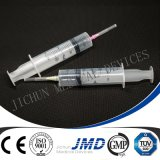 3 parti Luer Slip Safety Disposable Plastic Syringe con Needle