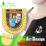Promotional su ordinazione Metal Badge di onore Professional Supplier in Cina