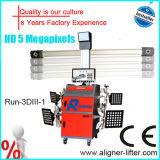 Rad-Ausrichtung der Maschinen-3D verwendet