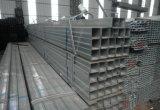Tubulação de aço quadrada galvanizada Q235C de ERW