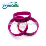 Braccialetti del Wristband del silicone di Cusomize