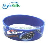 Customized Logoの高品質Printed Silicone Wristband