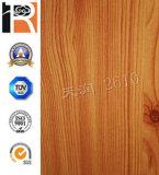 Placa de madeira compata aprovada da parede da grão do CE