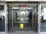 Cer genehmigter Weg durch Metalldetektor-Warnungssystem