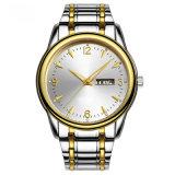 Het Horloge van het Roestvrij staal van het nieuwe Product voor de Mens, Automatisch en Kwarts (Ja 180)