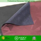 Polyester gesponnenes Jacquardwebstuhl-Gewebe mit gestricktem Gewebe für Kleid