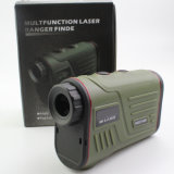 Erains TAC Optics W1000A Handheld Hunting 6X22 1000mの長間隔レーザーGolf Rangefinder Range Speed Height Angle Measurement