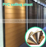 Декоративный PVC листа панелей стены пожаробезопасный
