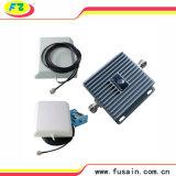 servocommande mobile à deux bandes 3G de signal de Lte 850MHz/1900MHz de fréquence du gain 65dB avec 2 antennes directrices de panneau à gain élevé